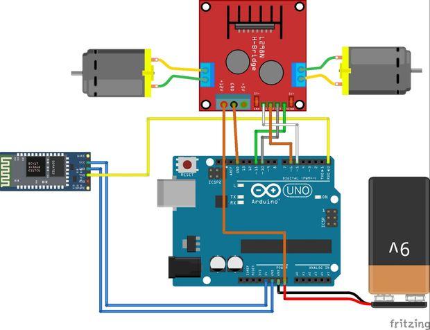 arduino ile bluetooth kontroll u00fc ara u00e7 yap u0131m u0131