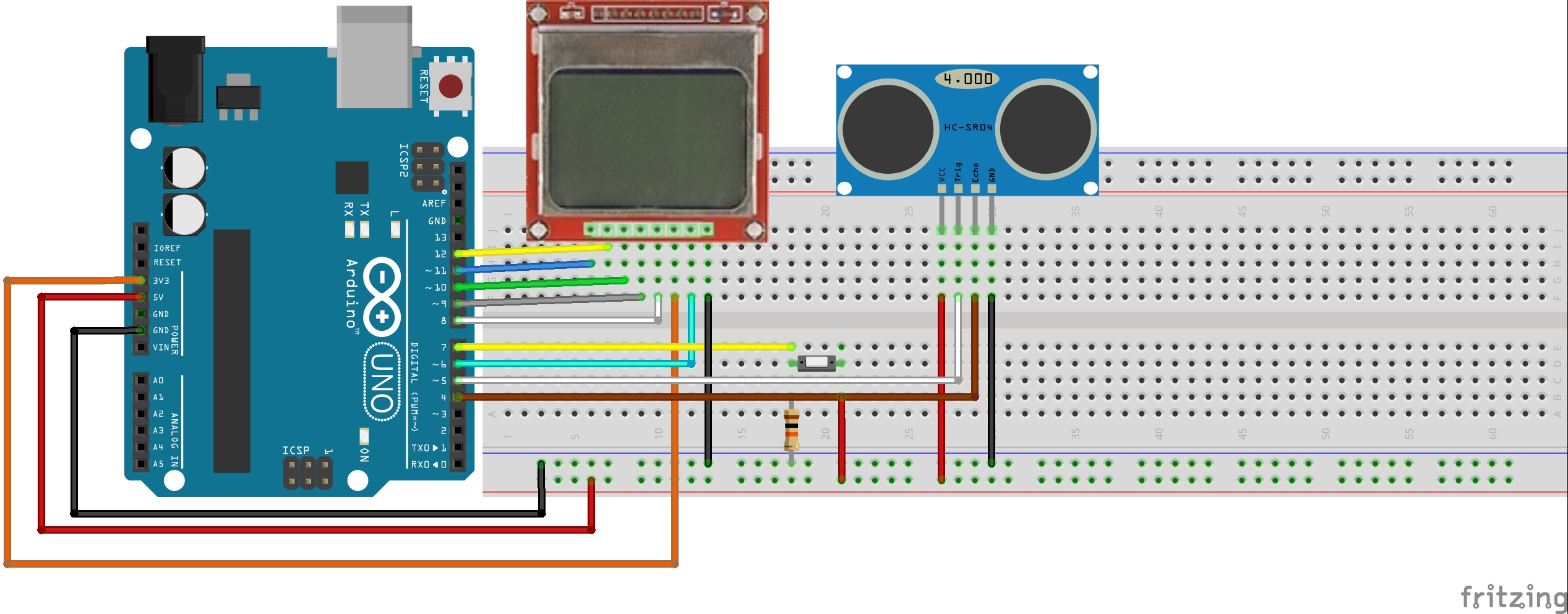 Arduino ile nokia ekranı kullanımı İkizsoft