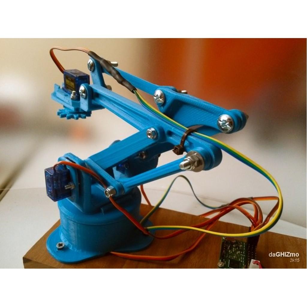 Boyutlu akıllı arduino robot kol yapımı İkizsoft